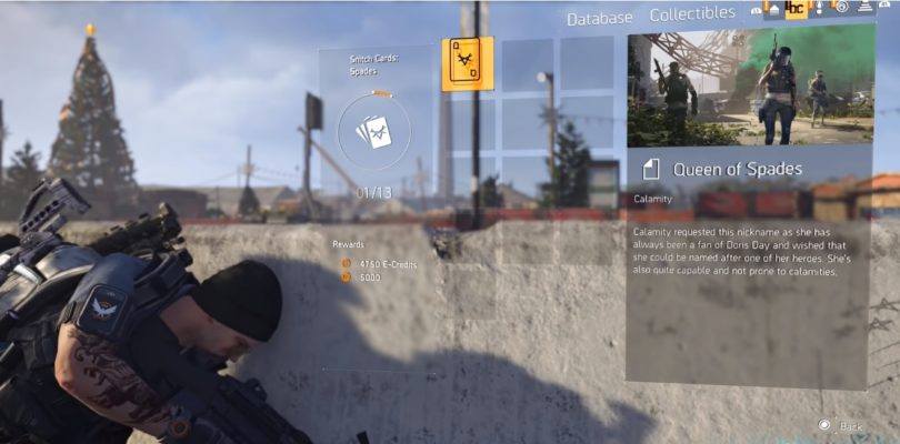 The Division 2 Snitch Cards Collectibles Locations