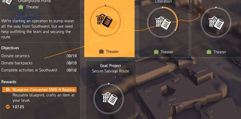 Division 2 Underground Pump Project Guide