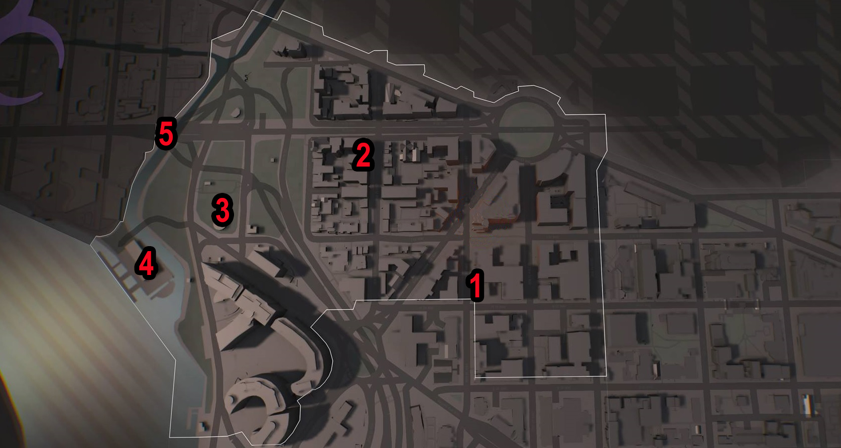 West End SHD Tech Caches   Division 2   Locations & Map