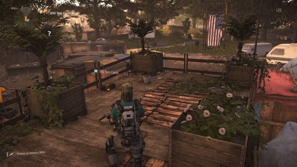 Division 2 West Potomac Park SHD Tech Cache 2 Location 2