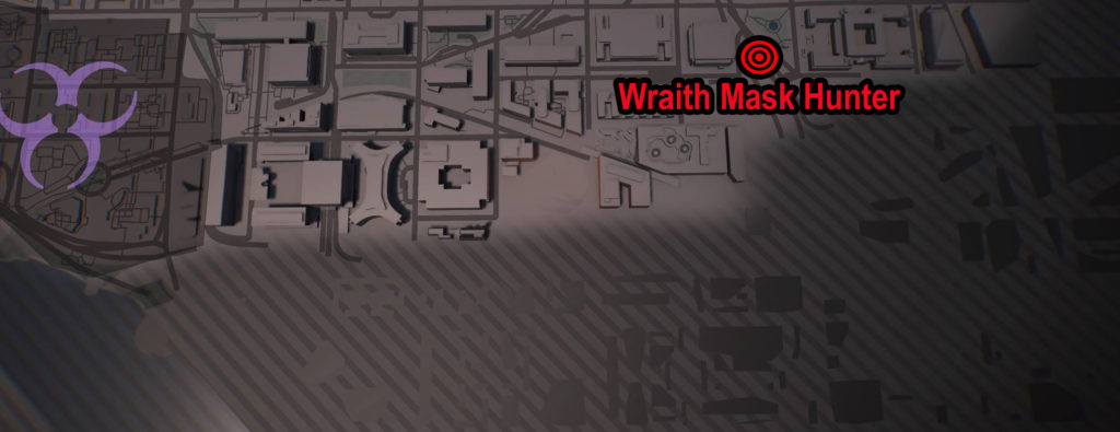 Tom Clancy's The Division 2 Wraith Mask Hunter Location