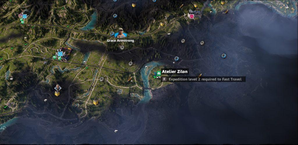 Far Cry: New Dawn Atelier Zilon