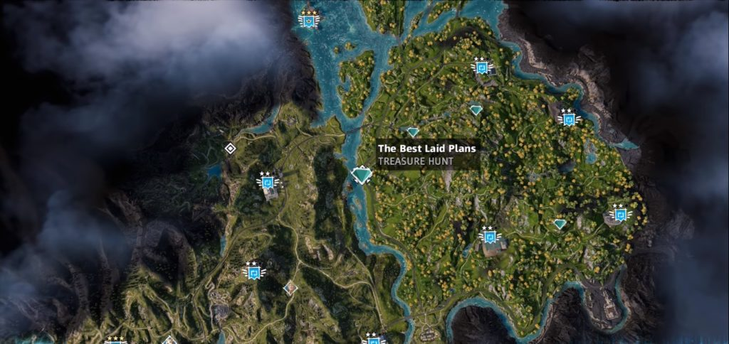 Far Cry New Dawn The Best Laid Plans Treasure Hunt Location