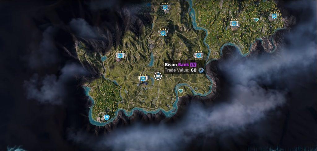 Far Cry: New Dawn Bison Location