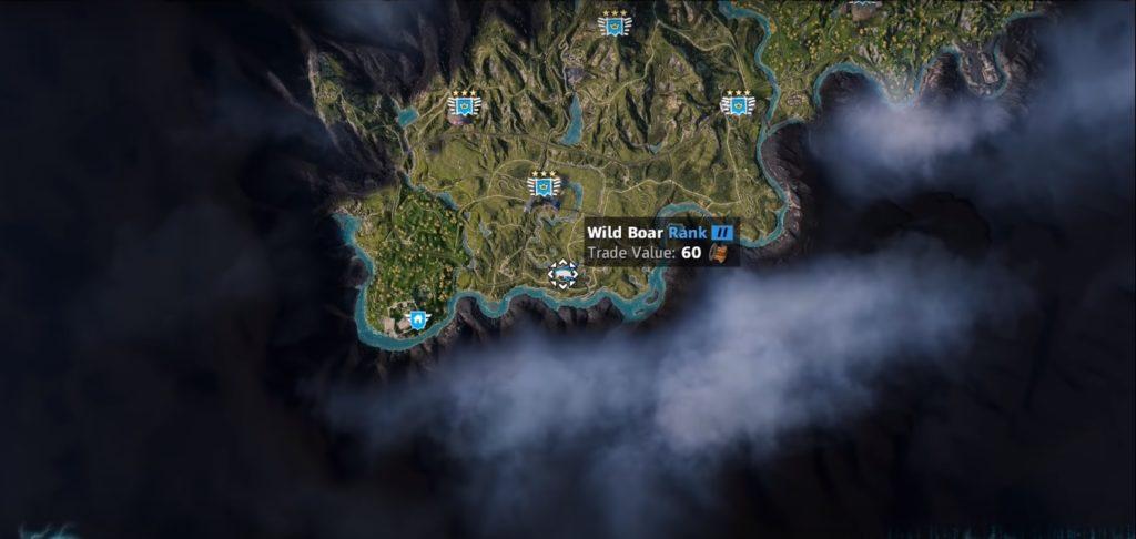 Far Cry: New Dawn Boar Location