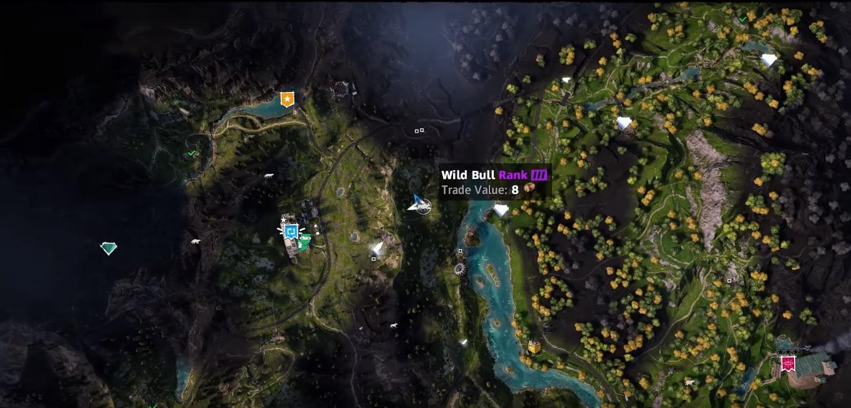 Bull Far Cry New Dawn Location Hunting Spot Skin Value Primewikis