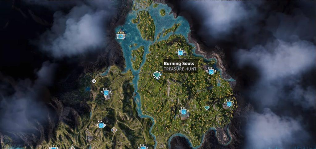 Far Cry New Dawn Burning Souls Treasure Hunt Location