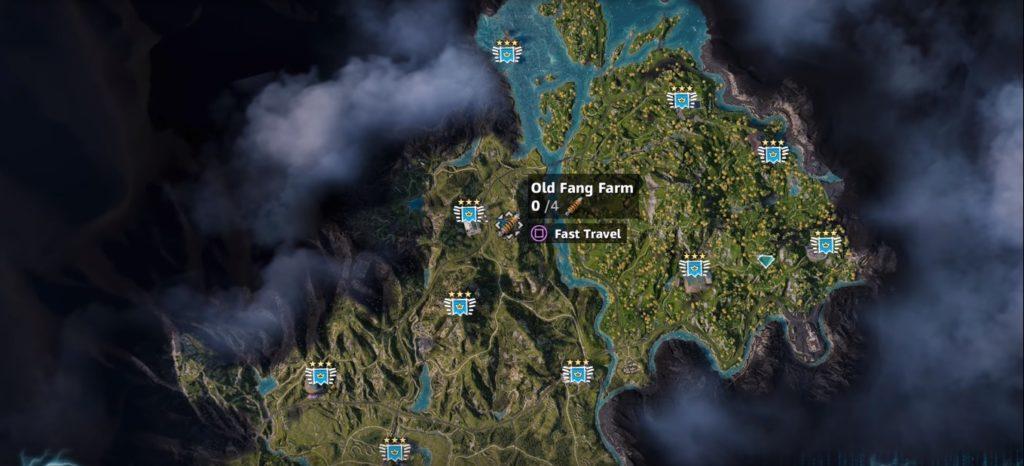 Far Cry: New Dawn Cattle Location 1
