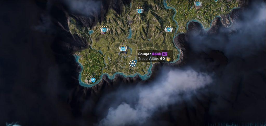 Far Cry: New Dawn Cougar Location