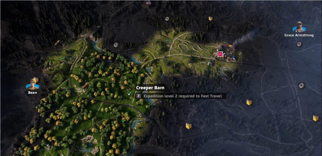 Far Cry: New Dawn Creeper Barn