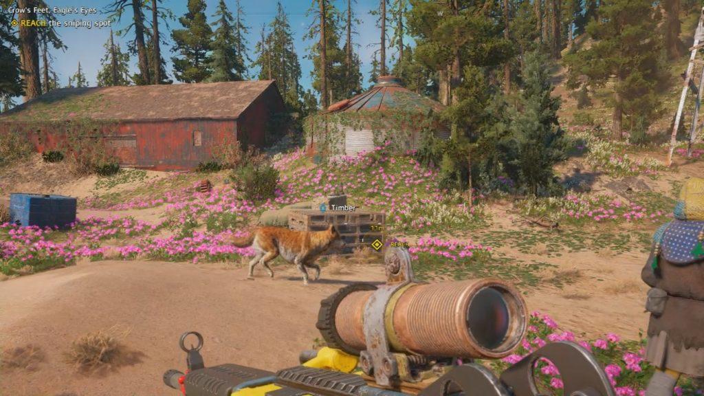 Far Cry: New Dawn Crow's Feet, Eagle's Eyes Wiki Guide 1