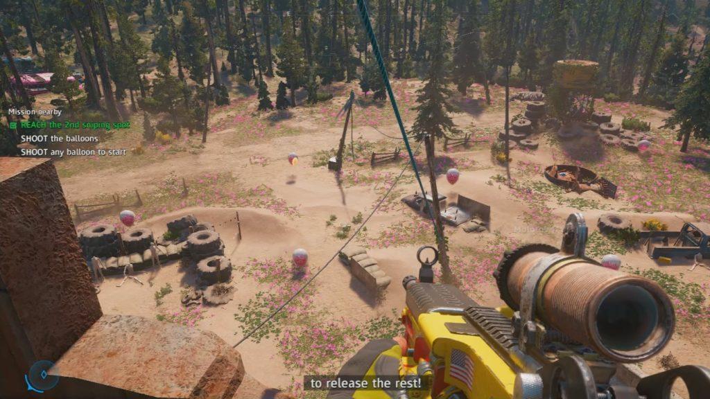 Far Cry: New Dawn Crow's Feet, Eagle's Eyes Wiki Guide 3