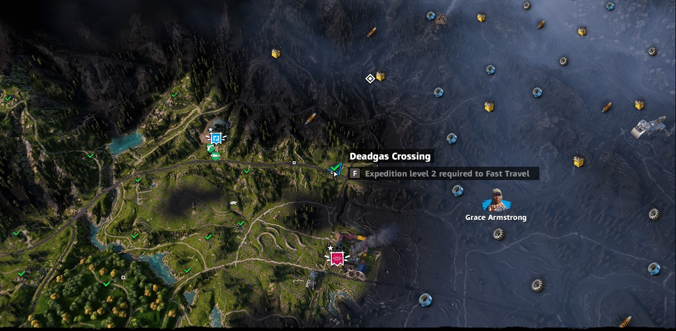 Deadgas Crossing   Far Cry New Dawn   Components Stashes