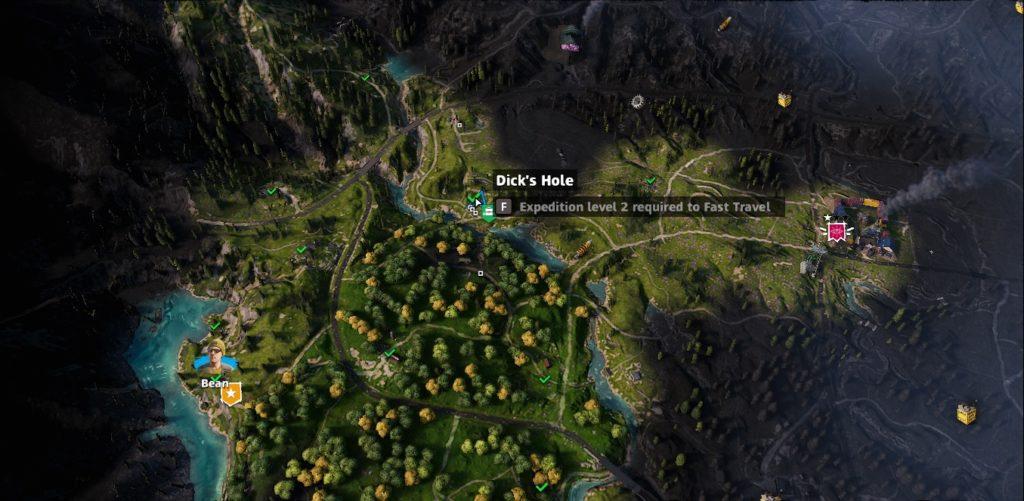 Far Cry: New Dawn Dick's Hole