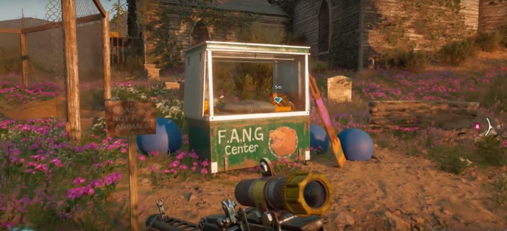 Far Cry New Dawn For Whom the Bear Tolls Note Location