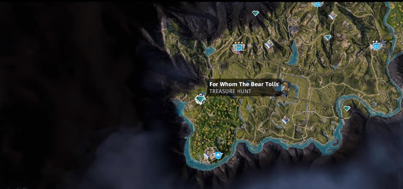 For Whom The Bear Tolls Far Cry New Dawn Treasure Hunt Location Guide Primewikis