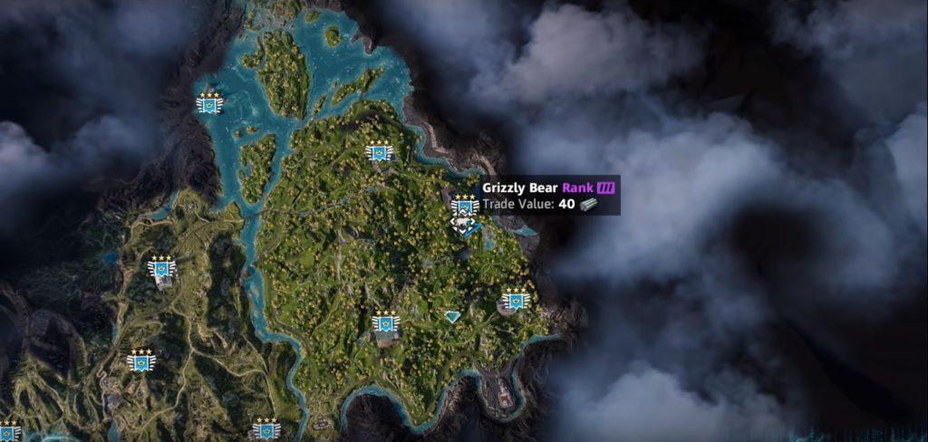 Far Cry: New Dawn Grizzly Bear Location