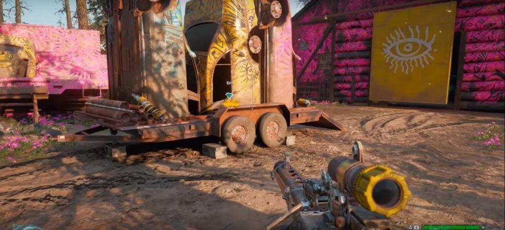 Far Cry New Dawn High Art Note Location