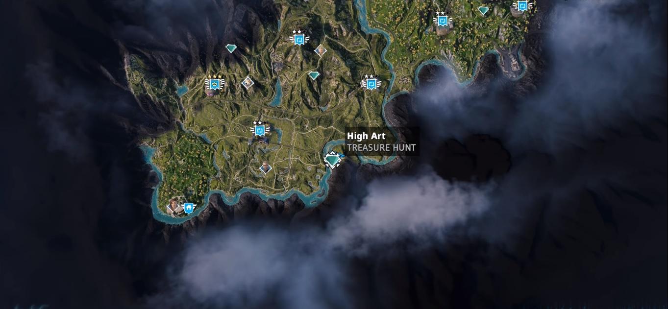 High Art Far Cry New Dawn Treasure Hunt Location Guide Primewikis