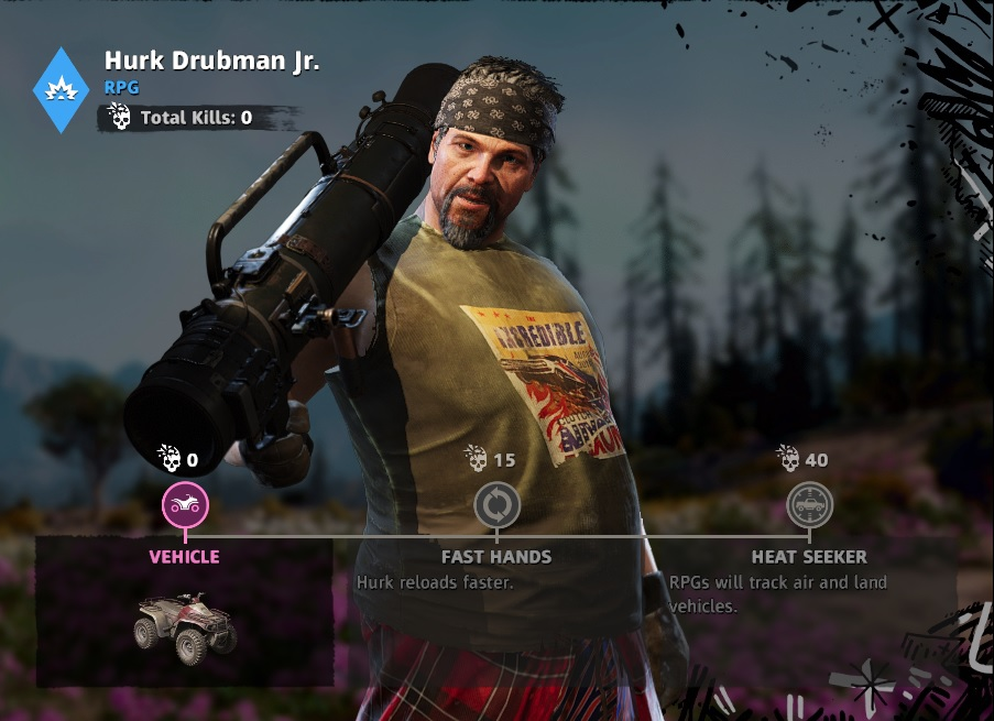 Hurk Drubman Jr Far Cry New Dawn Gun For Hire Location How To Unlock Primewikis