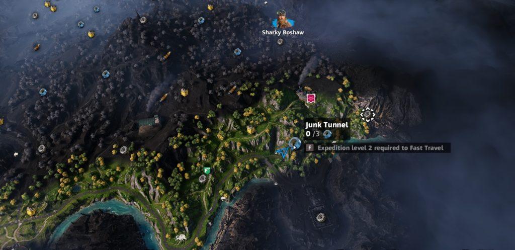 Far Cry: New Dawn Junk Tunnel