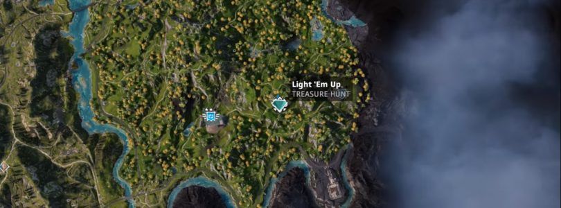 Far Cry New Dawn Light 'Em Up Treasure Hunt Location