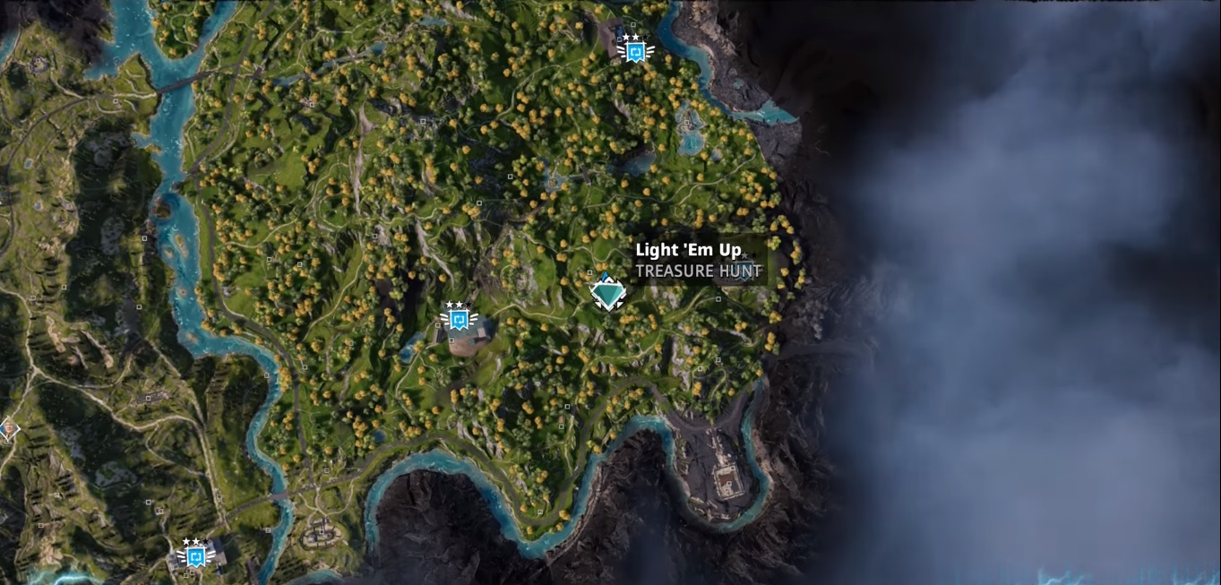 Light Em Up Far Cry New Dawn Treasure Hunt Location Guide