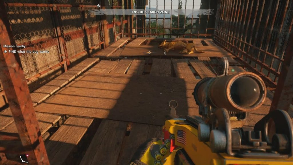 Far Cry: New Dawn Man Eat Dog World Master Cage Key Location