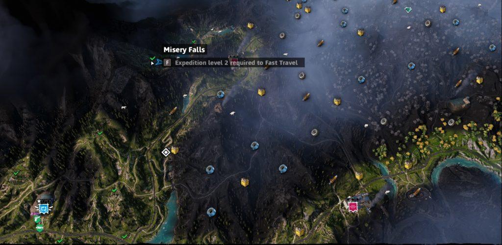 Far Cry: New Dawn Misery Falls