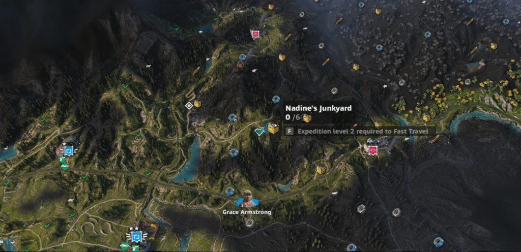 Far Cry: New Dawn Nadine's Junkyard