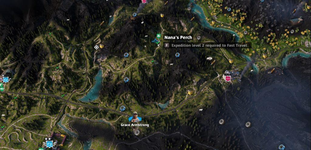 Far Cry: New Dawn Nana's Perch