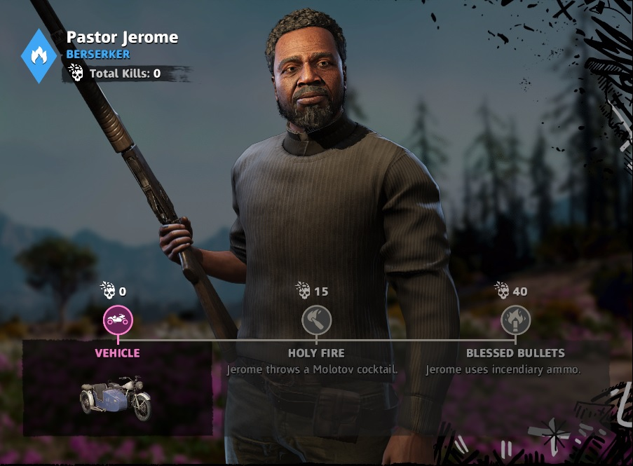 Far Cry: New Dawn Pastor Jerome Location
