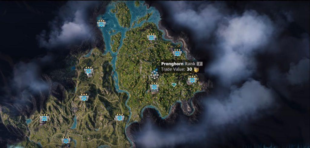 Far Cry: New Dawn Pronghorn Location