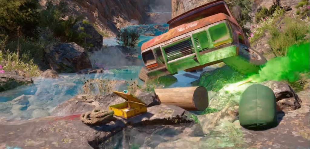 Far Cry New Dawn Rescuers Go Under Note Location