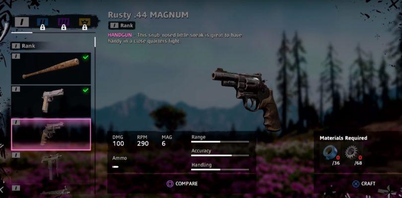 Far Cry New Dawn Rusty .44 Magnum Weapon Location