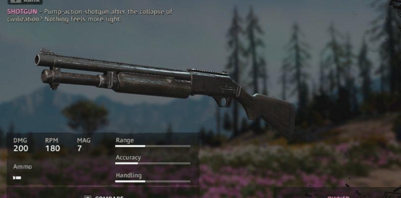 Far Cry New Dawn Rusty M133 Weapon Location