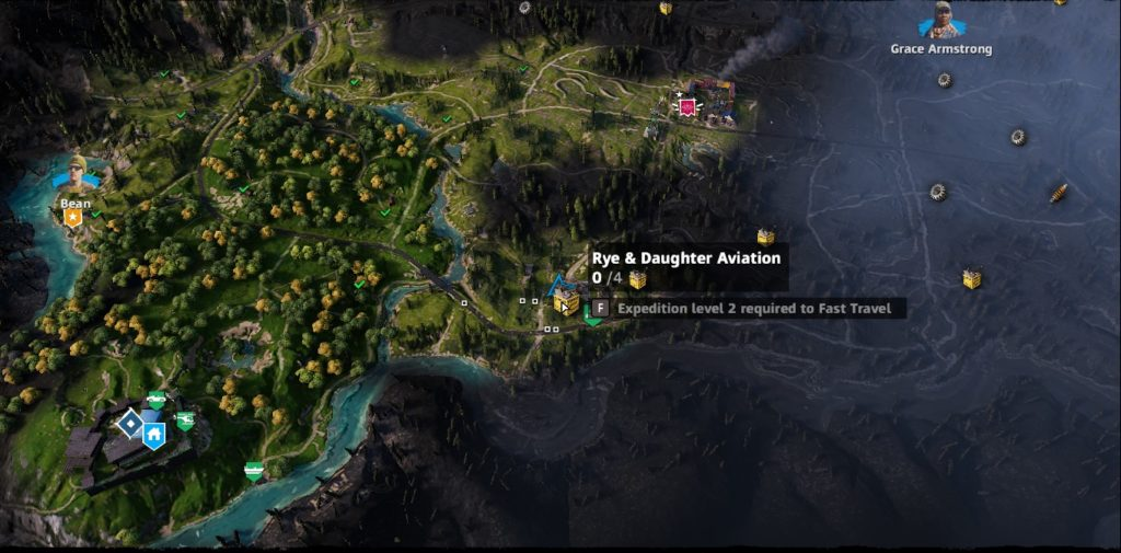 Far Cry: New Dawn Rye & Daughter Aviation
