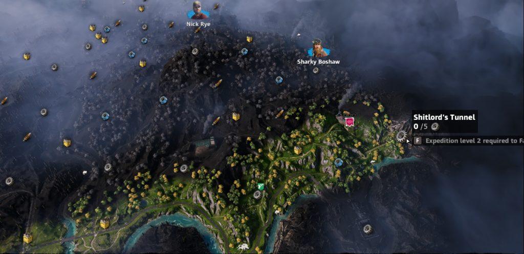Far Cry: New Dawn Shitlord's Tunnel