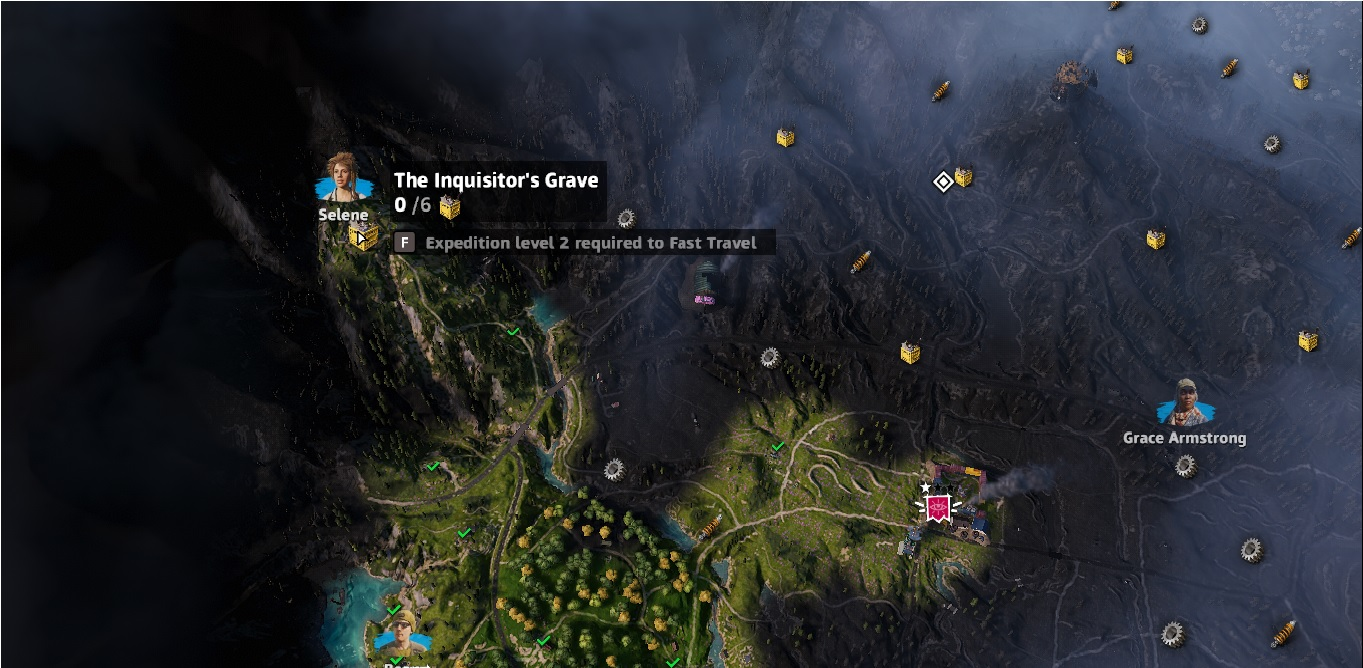 The Inquisitor's Grave | Far Cry New Dawn | Components