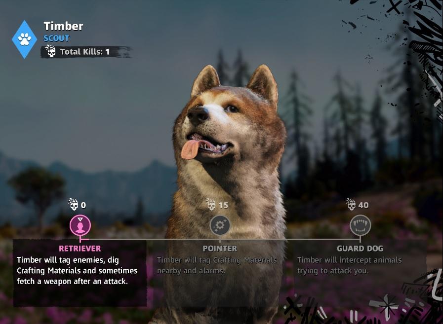 Far Cry: New Dawn Timber Location