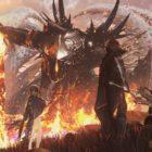 Code Vein Hellfire Knight Boss