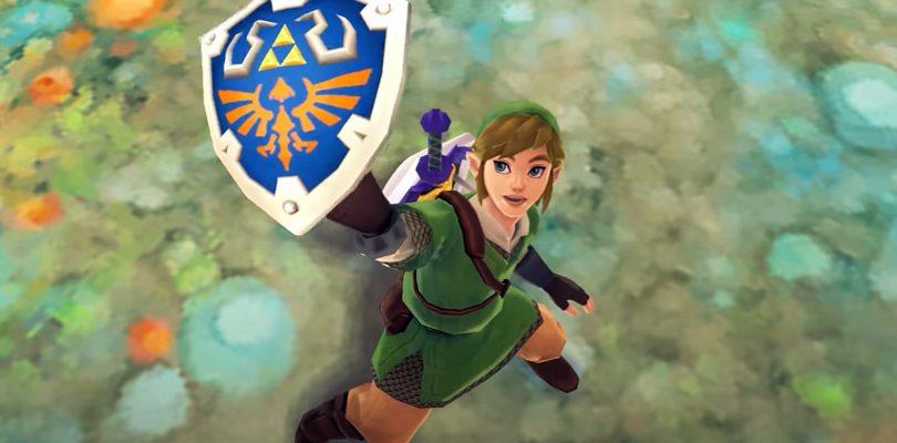 Zelda Skyward Sword HD Shield