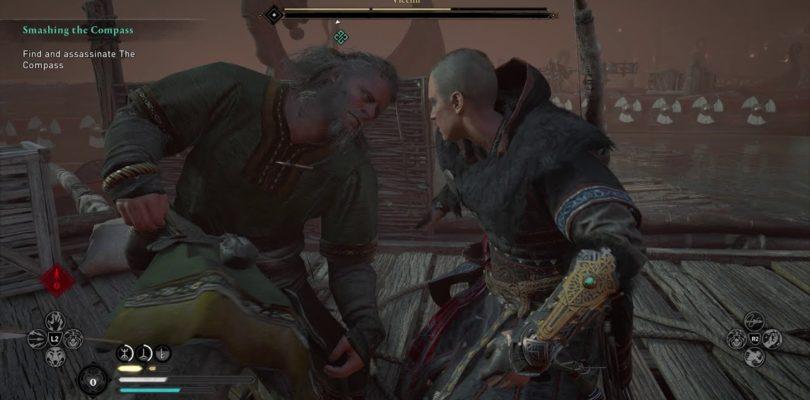 Assassin's Creed Valhalla Compass