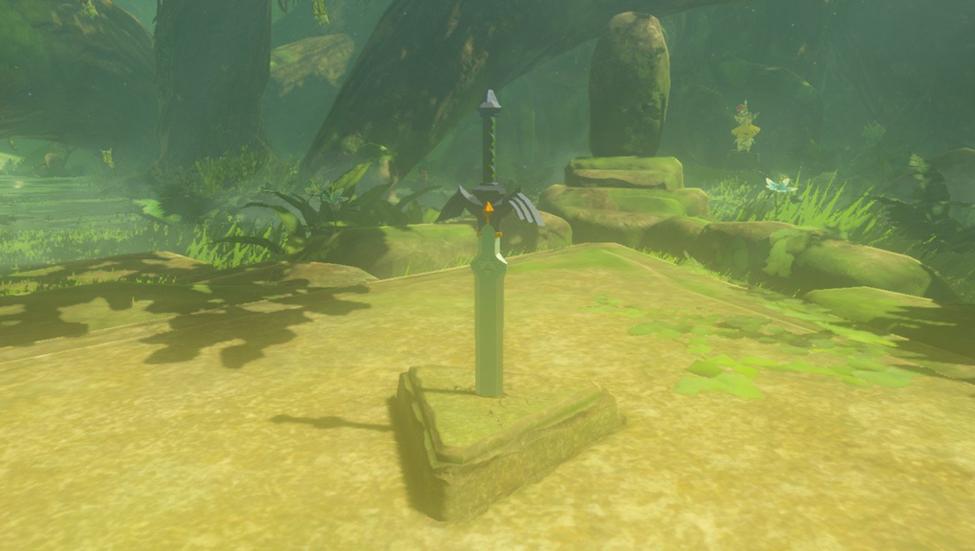 Legend of Zelda Guardians Master Sword