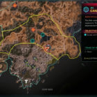 RAGE 2 Canyon Cove Ark Location Map
