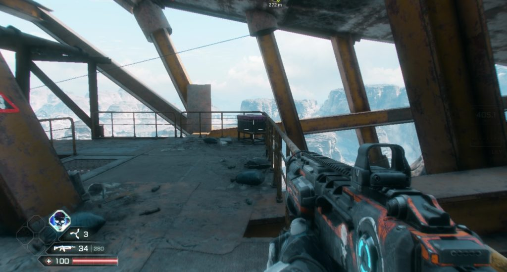 RAGE 2 Cliff Side Outlook Hidden Storage Container Location 3