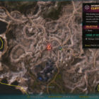 RAGE 2 Cliff Side Outlook Twisting Canyons Location Map