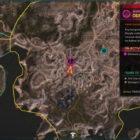 RAGE 2 Doomsayer Peak Twisting Canyons Location Map