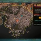 RAGE 2 Highroad Block Twisting Canyons Location Map