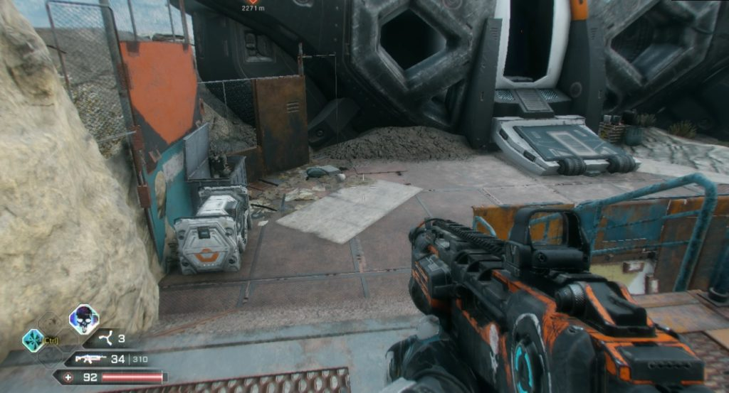 RAGE 2 Junkers Pass Ark Chest Location